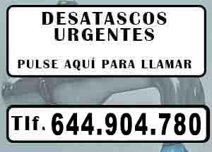 Desatascos La Nucia Urgentes
